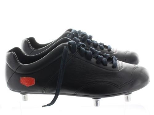 Chaussures de foot Infatigable - Noir crampons vissés
