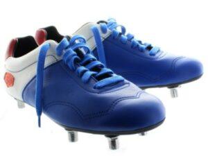 Chaussures de foot Françaises crampons vissés