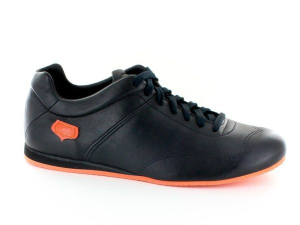 Supporter Homme - Noir semelle orange