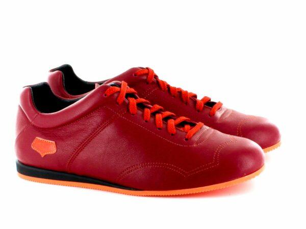 Supporter Homme - Rouge semelle orange