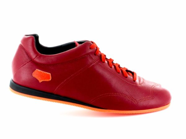 Supporter Homme - Rouge semelle orange