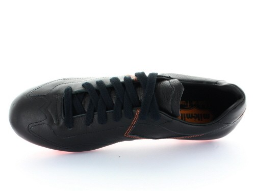 Chaussures de foot Penalty - Noir crampons moulés orange