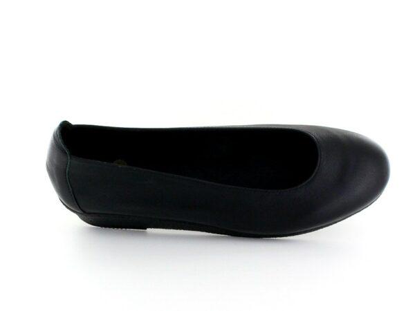 Ballerine talon - Noir