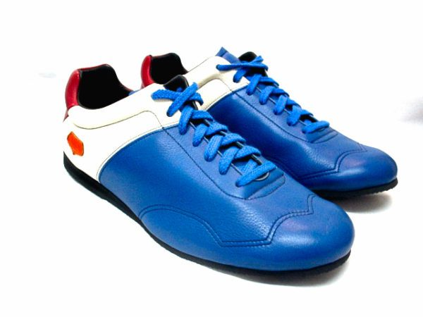 baskets bleu blanc rouge